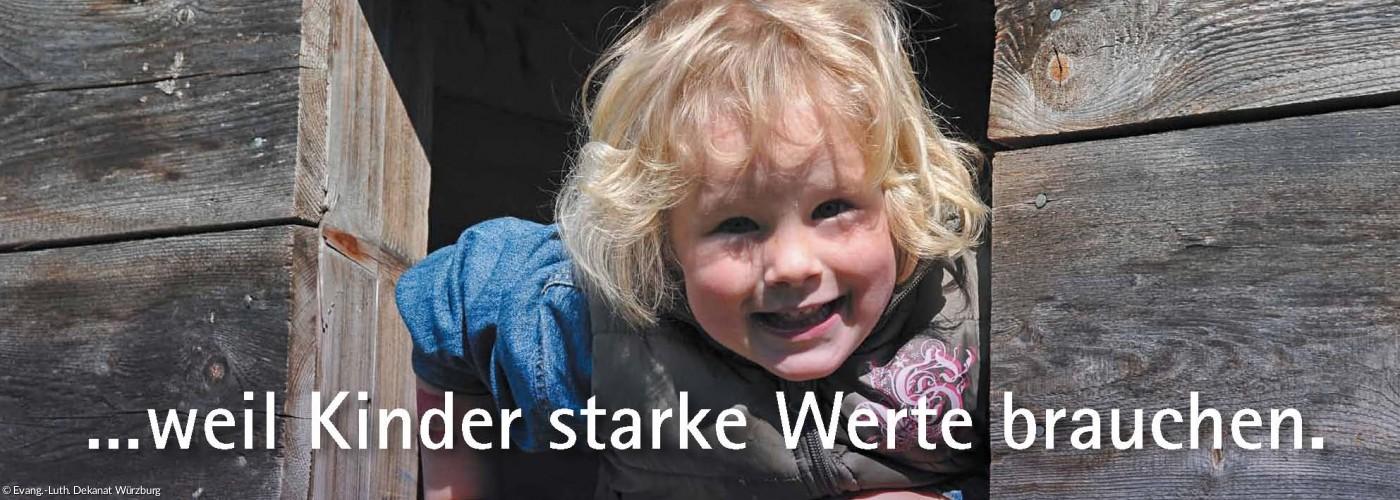 Plakat: Wir sind Da_Kinder
